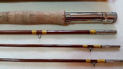 Wright &^ McGill 8 1/2' Water Seal  Model No. FB Bamboo Fly Rod 4 1/2oz