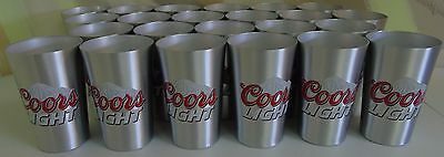 New Coors Light 16oz Aluminum Cup Pack 23 Cups Total