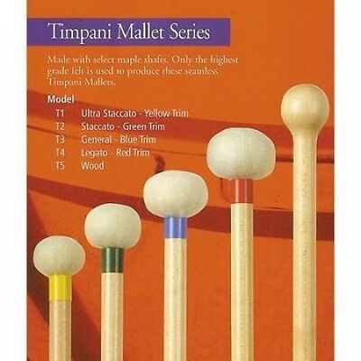 Mike Balter Timpani Mallets T2 Staccatto. Huge Saving