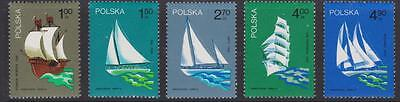 Poland 1974 #2038-42 Polish Sailing Ships (set of 5) - MNH