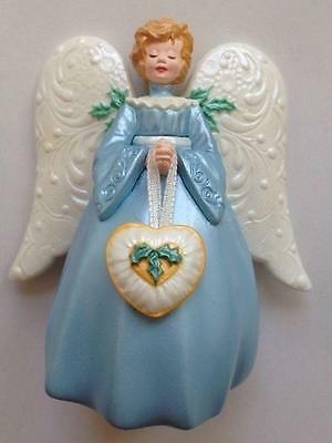 1998 Victorian Angel Hallmark Ornament Tree Topper Church Jesus God Religious
