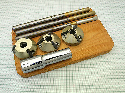 Valve Seat Cutter set  ø39-55mm. for 30, 45, 60 degree