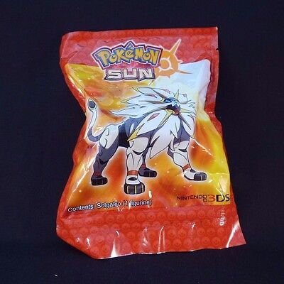 NEW & SEALED Pokemon Limited Edition Sun & Moon Pre Release Solgaleo Figure