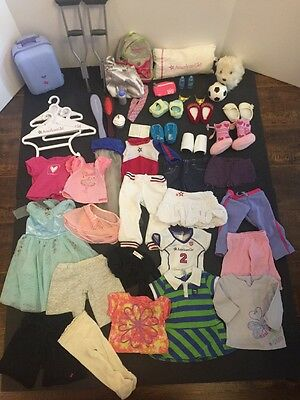 Huge Lot of American Girl Doll Clothes Accessories Shoes and More