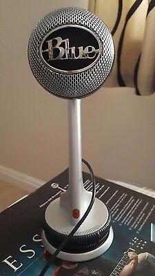 Blue Nessie Freestanding Adaptive USB Microphone Cardioid Immaculate Condition