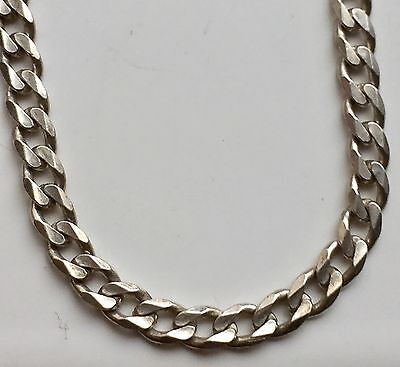 """925 Sterling Silver 4mm 16"""" Curb Chain Necklace Curb Chain"""