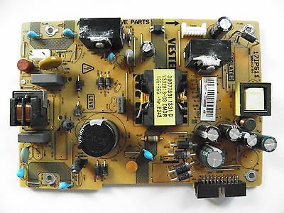 LED TV TOSHIBA 32W1333DB power supply board 17IPS11 300413-R4 23110481