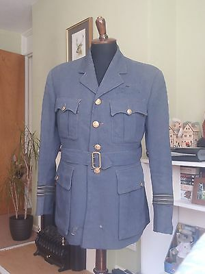 Original ww2 RAF officers pilots tunic - Sqaudron Leader rank