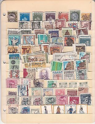 Greece small lot used stamps ( lot 548 )