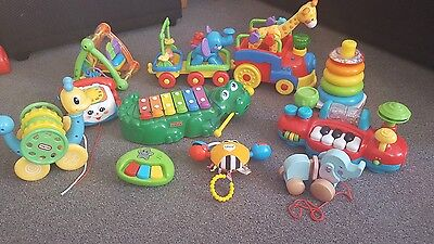 Large baby / toddler toy bundle. Pre-school. Lamaze fisher price little tikes