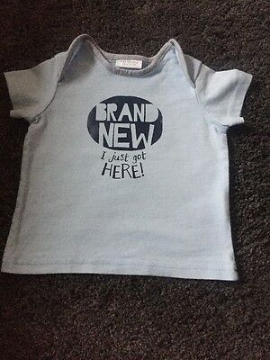 Next Baby Boys T Shirt Up To 3 Months