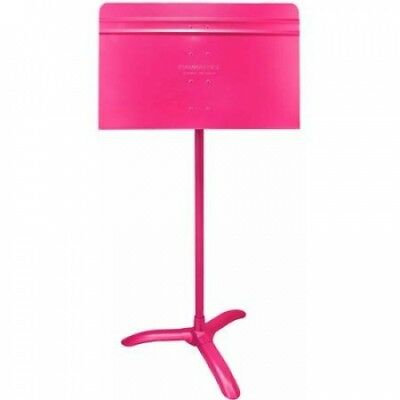 Manhasset Model #48 Symphony Music Stand, Hot Pink. Free Delivery