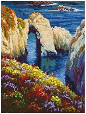 MCG Textiles 52418 Gold Collection Counted Cross Stitch Kit, Last Light Point Lo