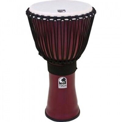 Toca Freestyle II Rope-Tuned Djembe 25cm African Dance. Shipping is Free