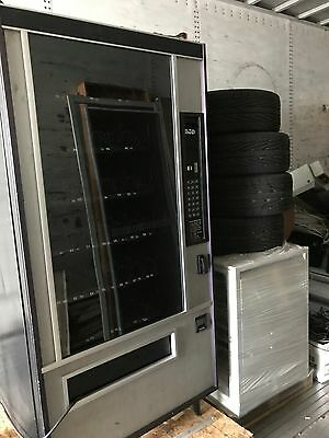 Vending Machine, black and grey, large, convenient, works well