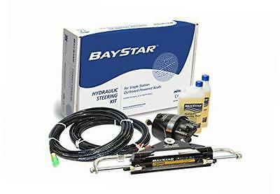 baystar kit, hk4200a-3, hydraulic steering kit with compact cylinder with 20'