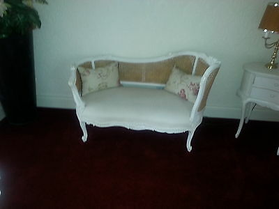 French Chic Bergere Sofa