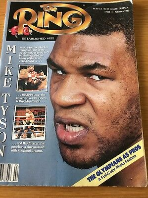 Mike Tyson The Ring Boxing Magazine