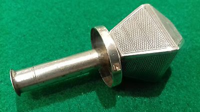 Solid Silver Bottle Stopper Hallmarked London Possibly Asprey ?