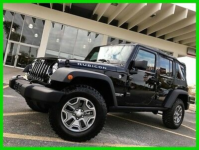 2016 Jeep Wrangler Unlimited Rubicon 2016 Unlimited Rubicon Used 3.6L V6 24V Manual 4WD SUV