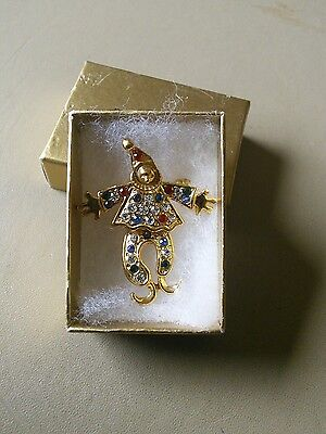 Harmony collection Clown brooch NEW