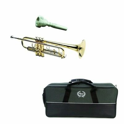 Legacy Intermediate Trumpet TR750 w/ Deluxe Convertible Case, and 2 Year