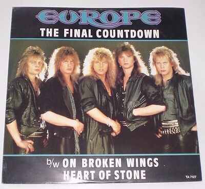 "The Final Countdown, Europe 12"" singles x2"