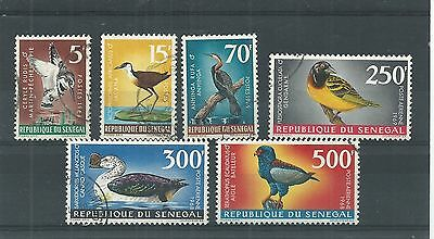 Senegal 1968 Birds Set Fine Used