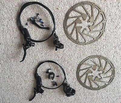 NEW SRAM GUIDE ULTIMATE DISC BRAKES 200mm rotors, Matchmaker, Carbon