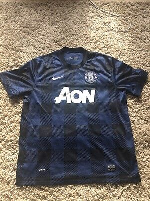 Manchester United Away Shirt 2013/2014 XL