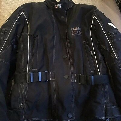 RUKKA MOTORCYCLE JACKET Maija LADIES MOTORBIKE Textile Jacket EU40 UK 12