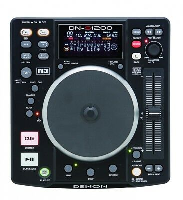 Denon DNS1200 Single Disc DJ CD Player. Free Shipping