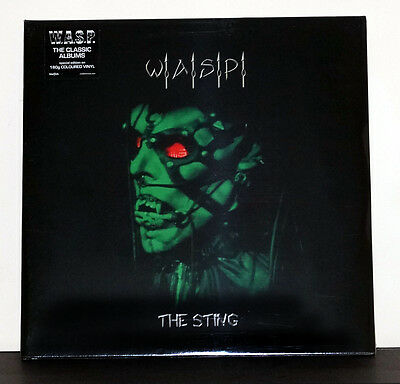 W.a.s.p. The Sting Brand New Factory Sealed 2 X 180G Green Vinyl Lp Wasp Blackie