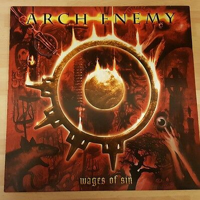 Arch Enemy 'wages Of Sin' Original Vinyl Lp