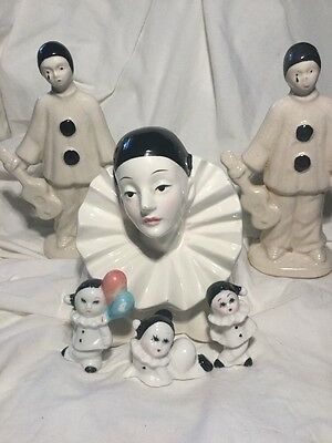 Pierrot Collection. Five Figure Collection  The Sad Clown
