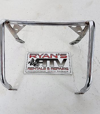 1983-85 Honda ATC200X Used Chrome Headlight Guard Cover Vintage
