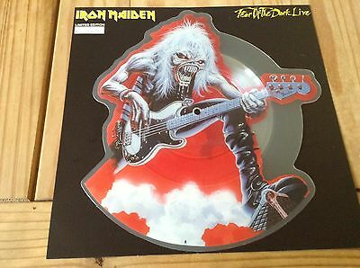 Iron Maiden Fear Of The Dark Lp Cut-To-Shape Picture Disc Limited Edition