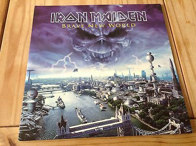 Iron Maiden Brave New World 2Lp Picture Disc 2000 New