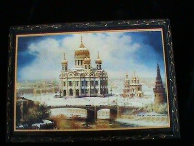 Antique Imperial Russian  Lacquer Box