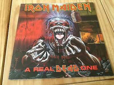 Iron Maiden A Real Dead One 1993 Lp Gatefold Emd1048