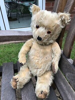 "Chad Valley Antique Bear 17"" 1940/50's"
