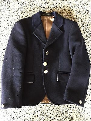 Le Beau Cheval Navy Child's Jacket