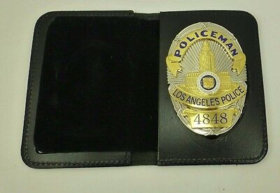 "Los Angeles Police Department ""Dragnet #4848 Bill Gannon"" Replica Prop Badge"