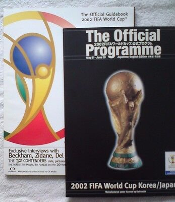WORLD CUP 2002 JAPAN Official Tournament Programme and Guidebook