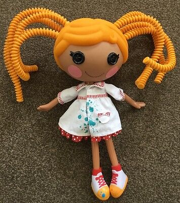 """Large LALALOOPSY 12"""" Spaghetti Hair Doll - Excellent Condition"""