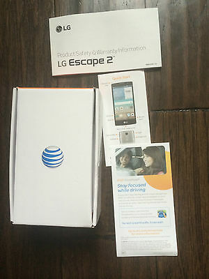 LG Escape 2 Empty Box & Manual Product Guide ATT