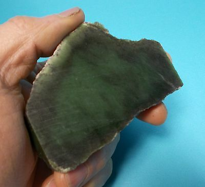 BC Jade 146gr  Raw 100% Natural Canadian Green Nephrite Gemstone ACKTONN