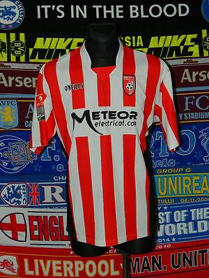 5/5 Derry City adults XL 2008 rare football shirt jersey trikot soccer