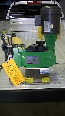 Pulsafeeder Diaphragm Metering Pump Model 25Hj With Motor, 1.45 Gph - New