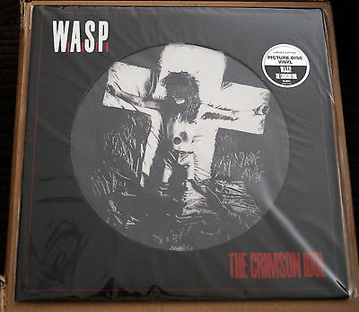 W.a.s.p. The Crimson Idol Brand New Limited Edition Picture Disc Lp Wasp Blackie